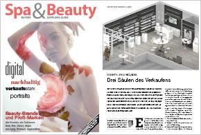 Spa & Beauty Guide 2021, 8. März 2021: Drei Säulen des Verkaufens