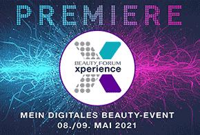 BEAUTY FORUM Xperience digital: 08./09. Mai 2021